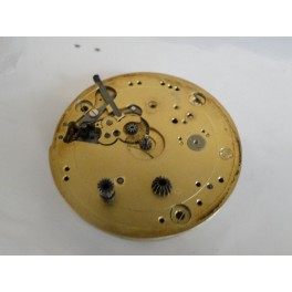 rare swiss made iwc movement pocket watch for parts