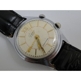 rare russian made SIGNAL wristwatch with alarm from 1950´s