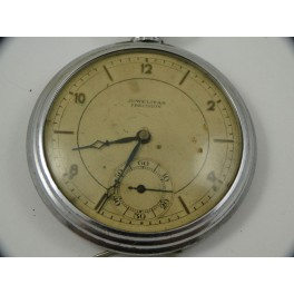 swiss made JUWELITAS PRECISION pocket watch for parts with fine microregulation