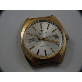 rare geman made JUNGHANS automatic double date wristwatch