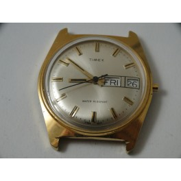 rare TIMEX DOUBLE DATE wristwatch for parts